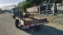 Carretinha reboque (carga barco e carro)