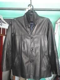 Barbada casaco em couro masculino-em ótimo estado-número-.GG-