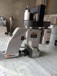 Maquina portátil de costurar saco