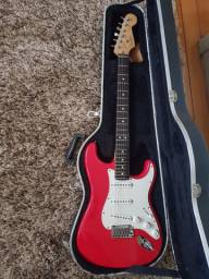 Fender American Standard Stratocaster Fista Red - Deluxe