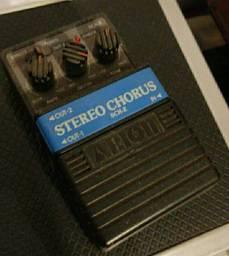 Pedal Analógico Stéreo Chorus p Guitarra