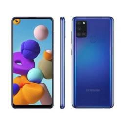 Samsung a21s com 1 mês de uso