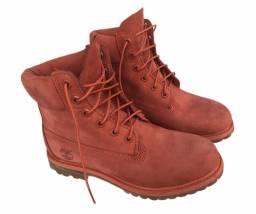 Bota timberland original yellow boot original usado uma única vez