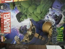 HQ Thanos vs Hulk completa em duas edições
