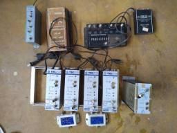 Antena Coletiva - Rack - amplificador - modulador e outros