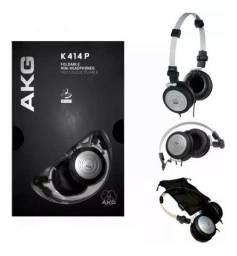 Fone profissional AKG K-414 P novo com garantia Harman