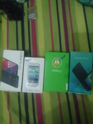 Caixa de celular zenfone 4 max,zenfone 2 laser, moto g5, galaxy S3 mini