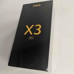(Xiaomi) Poco X3 NFC 64GB Cinza (Novo e Lacrado) Tela 120Hz, Bateria 5160 mAh