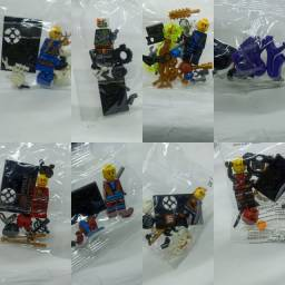 Bonecos de montar tipo lego NinjaGo