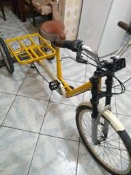 Bicicleta triciclo food trike