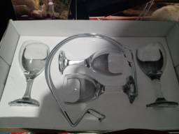 Suporte para vinho.