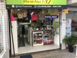 Passo loja José menino santos, esquina com avenida da praia