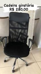 cadeira para escritório giratória