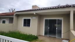 Casa Nova, Rua Asfaltada, Saint Etienne em Matinhos REF 465