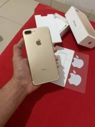 Vendo ou Troco IPhone 7 Plus Gold 32gb
