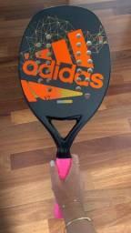 Raquete Beach Tennis adidas V7 Nova - Sem Uso