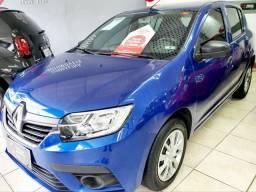 Renault Sandero Life 1.0 completo, 2020,oportunidade!!!