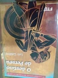 Livro paradidático O destino de Perseu