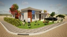 casa 3 quartos 110m²  construção financiada - porto monte