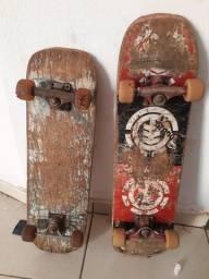 Vendo dois skate 70,00