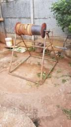 Trabalho com fundação fosse cisterna etc..