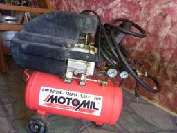 Compressor motomil 24 hp perfeito Estado funcionando desarmando normal