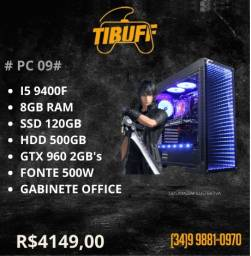 PC Gamer - i5 9400f - 8GB - SSD