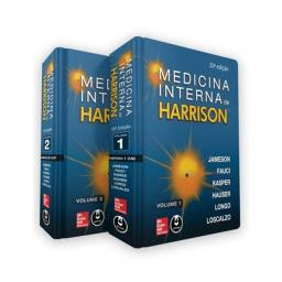 Livro - Medicina Interna de Harrison - 2 Volumes