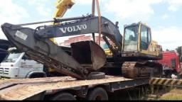 Escavadeira hidráulica volvo 210
