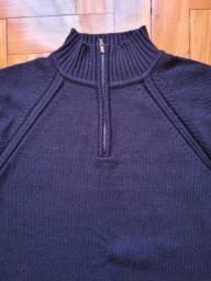 Suéter gola alta