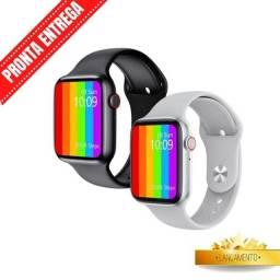 (Promoção) Relogio Smartwatch Iwo W26 Original Tela Infinita