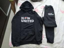 Conjunto moletom Now United