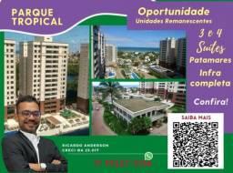 Título do anúncio: Patamares , 2 vagas , 3 suítes , Parque Tropical , Varanda Gourmet , 113m²