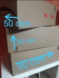 Caixa para envio de mercadorias