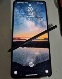 Vendo ou troco lançamento galaxy Samsung Note 10 Lite novinho