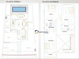 Sobrado com 3 dormitórios à venda, 198 m² por R$ 1.000.000 - Terras Alpha Residencial 2 -