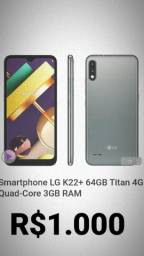 LG K22+ 64GB 3 RAM  INTERESSADO CHAMA NO ZAP + *65