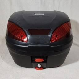 Maleiro Bauleto Baú de Moto 30 Litros Pro Tork - Preto