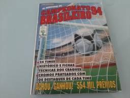 Álbum de figurinhas do Campeonato brasileiro 1994 completo