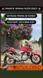Yamaha Fazer 250 -> Financiemento Facilitado