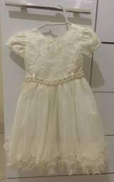 Vestido de casamento de 2 anos