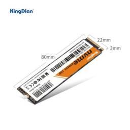 Ssd nvme kingdian 256gb - pcie 3.0. Top é barato!