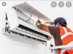 Instalação e manutenção de ar condicionado  zap *