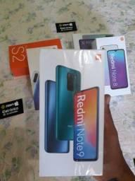 Xiaomi note9 lacrado com Nf