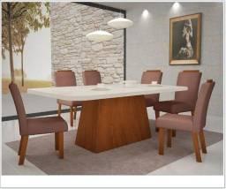 Título do anúncio: Sala de Jantar Mesa c/ 6 Cadeiras / Preço Fábrica