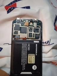 Placa Moto C4 plus 16GB  novinha com bateria e carcaça