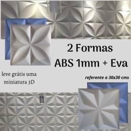 2 Formas de Abs 1mm + Eva