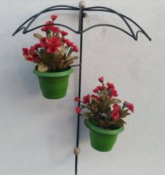 Suporte para plantas guarda chuva