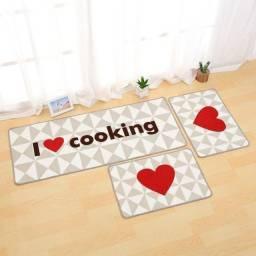 Jogo de tapetes para cozinha