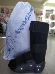 Título do anúncio: BAIXOU: Bota ortopedica imobilizadora Novas TAM P calça ate 35.